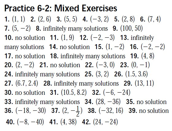 Integrated Algebra Answer Keys Mhshs Wiki