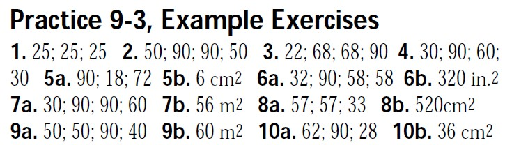 Geometry Worksheet Answer Keys Mhshs Wiki