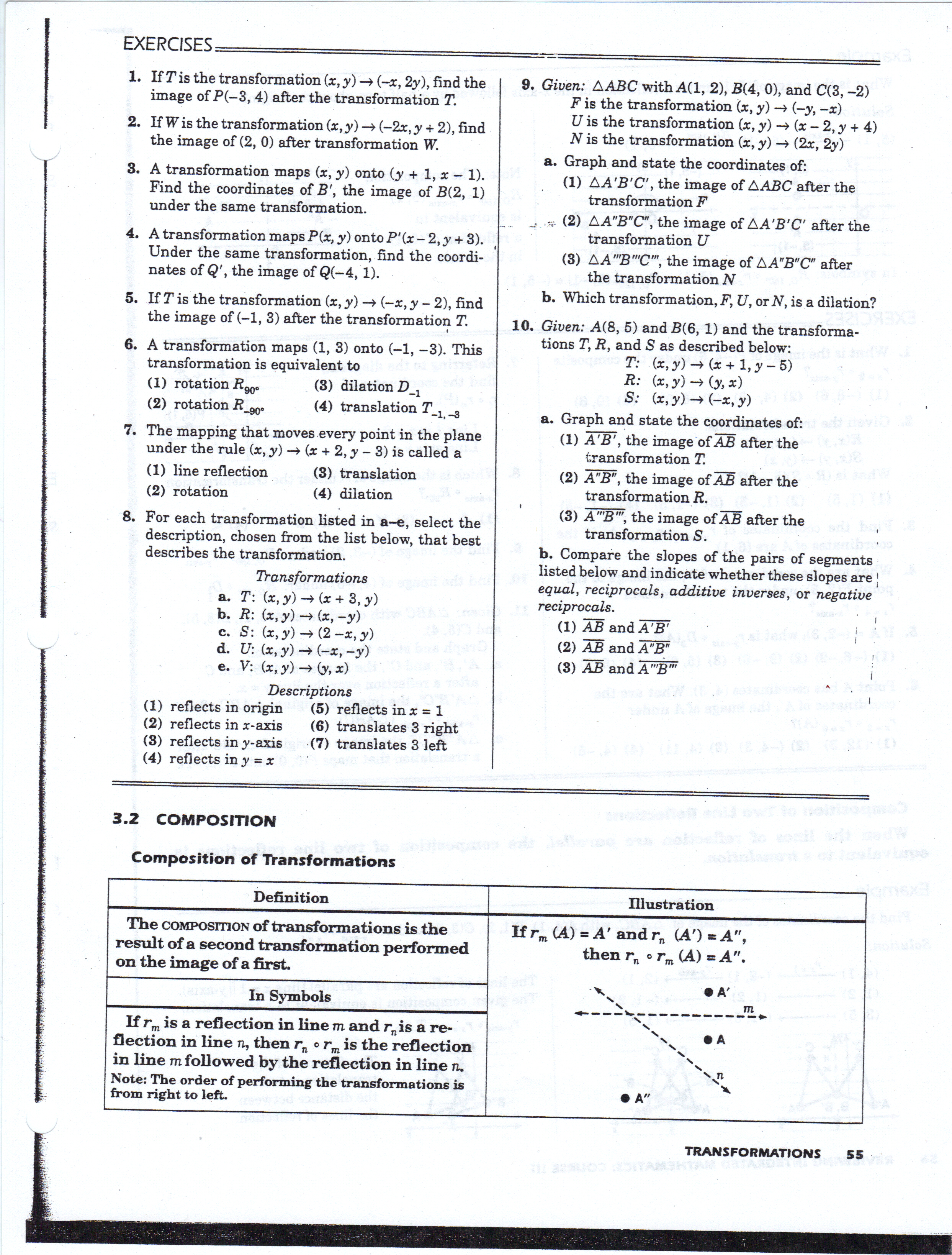 Printables Geometry Worksheets And Answers geometry worksheets mhshs wiki worksheets